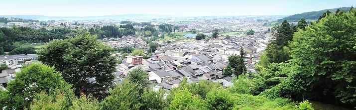 施設から見える景観(富山平野の景色)